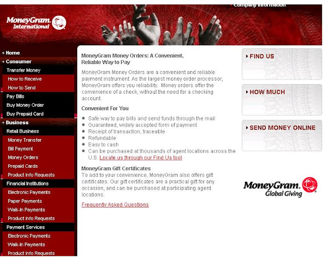 Track moneygram money order from www.moneygram.com