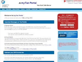 ... File your Income tax at myTax Portal (mytax.iras.gov.sg)? | B4Tea.com