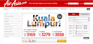 Air Asia : Booking Office & Working Hours Information