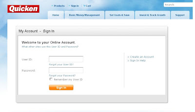Quicken bill pay online guide how to login to quicken intuit com