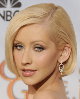 Christina Aguilera, Golden Globes, 2010