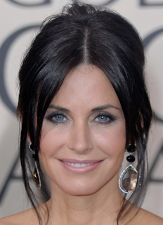 Courteney Cox, Golden Globes, 2010