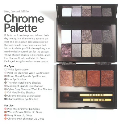 Bobbi Brown, holiday, Chrome, palette