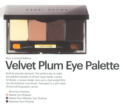 Bobbi Brown, holiday, Velvet Plum, palette