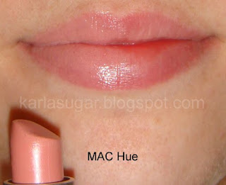MAC, Hue, swatches