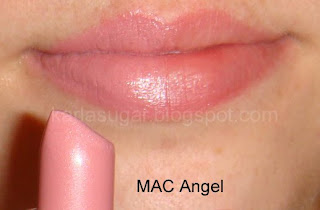 MAC, Angel, swatches