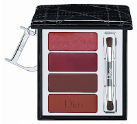 Dior, holiday, 2009, Cristal Boreale, lip quad, Cannage, black
