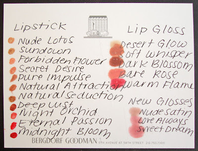Edward Bess, swatches, lipstick, lipgloss, Nude Lotus, Sundown, Forbidden Flower, Secret Desire, Pure Impulse, Natural Attraction, Natural Seduction, Deep Lust, Night Orchid, Eternal Passion, Midnight Bloom, Desert Glow, Soft Whisper, Dark Blossom, Bare Rose, Warm Flame, Nude Satin, Love Always, Sweet Dream