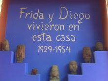 Frida y Diego, están aquí.