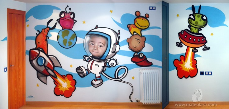 Murales habitaciones infantiles barcelona - Habitaciones infantiles barcelona ...