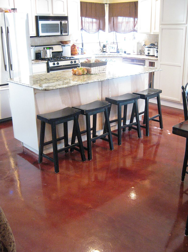 Stamped Concrete Kitchens : Makin it in memphis june