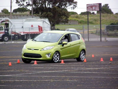 Autocrossing the 2011 Ford Fiesta