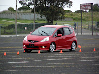 2010 Honda Fit at the autocross - Subcompact Culture