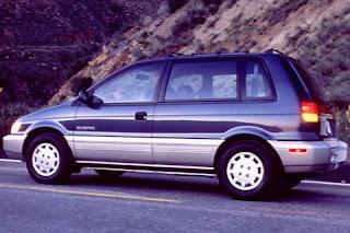 Nostalgic Subcompact Tall Wagon Triplets Mitsubishi Expo LRV Eagle Summit And Plymouth Colt Vista