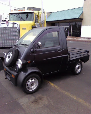 Daihatsu Midget II, other Kei vehicles spotted in Oregon