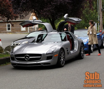 Mercedes SLS AMG - Subcompact Culture