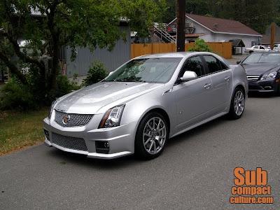 2010 Cadillac CTS-V - Subcompact Culture