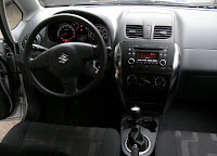 2010 Suzuki SX4 crossover interior - Subcompact Culture