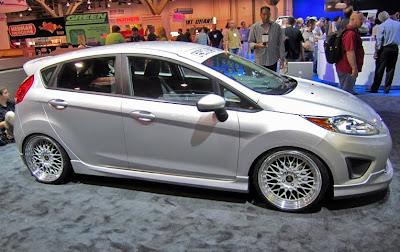 SEMA 2010 Ford Fiestas - Subcompact Culture