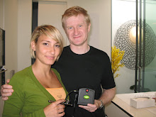 John Woodbridge y Nerea Rodriguez en Londres