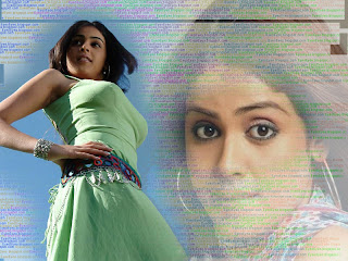 Genelia  is a popular south indian actress