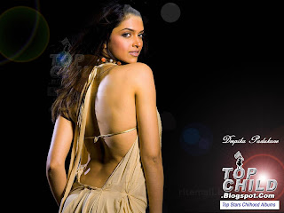 Dipika padukone fully open backside design