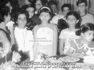 aishwarya rai  in her  school days