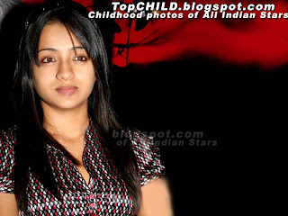 Thrisha krishnan  in a glamour look