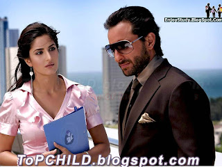 Katrina kaif  with saif ali khan