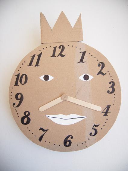 Atelier Pour Enfants Horloge