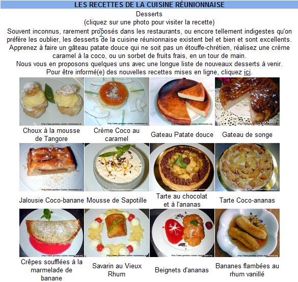 Le blog epsilon r galez vos papilles avec la cuisine for La cuisine reunionnaise