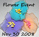 Flower-Making using Fabrics Event