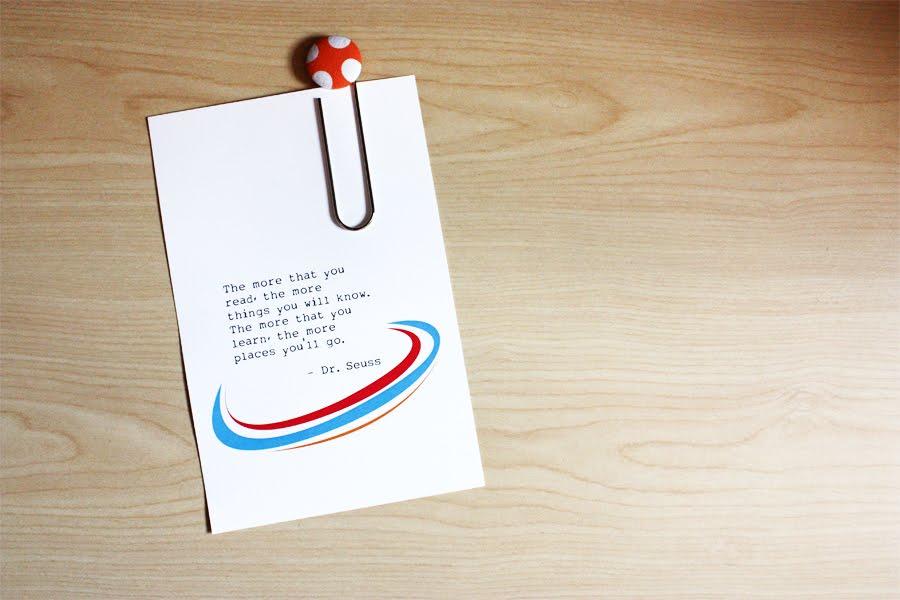 Dr. Seuss Teacher Appreciation Printables Free