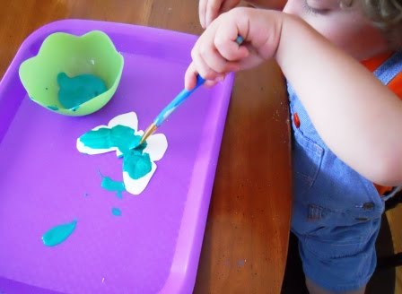 butterfly craft for toddlers