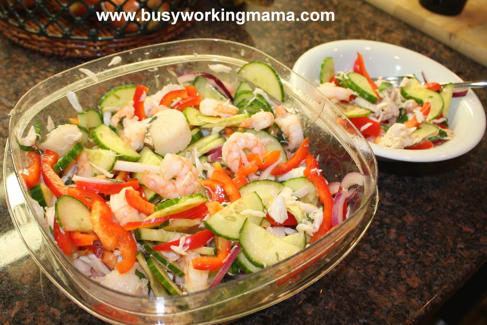 Seafood salad recipe imitation crab 7000 recipes for Fish salad recipes