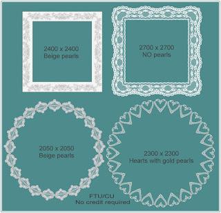 http://scrapbyyanna.blogspot.com/2009/09/lace-frames-3.html