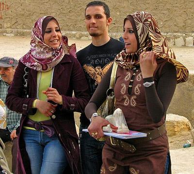 Modern Egyptian Women Hijab