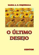 Livro O Último Desejo, de Maria Aparecida S. Coquemala