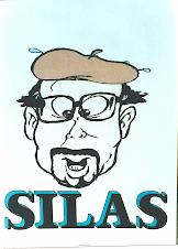 Caricatura do Poeta Silas Correa Leite
