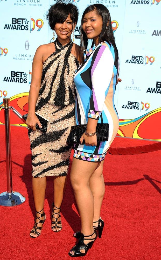 Lisa Raye and Her Daughter