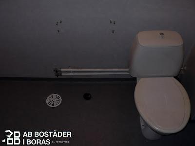 AB Bostäder i Borås renoverar badrum