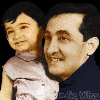 Little Amir khan with his Father