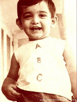 Rare Unseen Childhood Pictures of Amir Khan