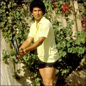 Sachin Tendulkar Can play tennis as well