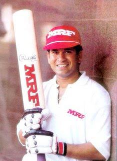 Sachin Tendulkar The MRF Ambassador