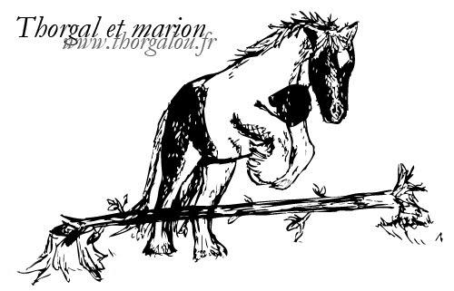 Peinture de Thorgalou à l'acrylique Thorgal-marion2