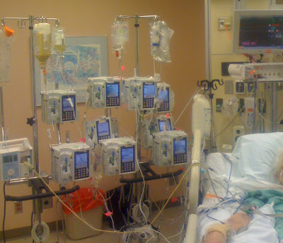 ICU-Multiple-Meds-Hanging-IV-Pole
