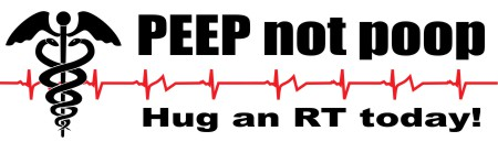 Best-Respiratory-Therapy-Slogan-Bumper-Sticker-PEEP-not-poop