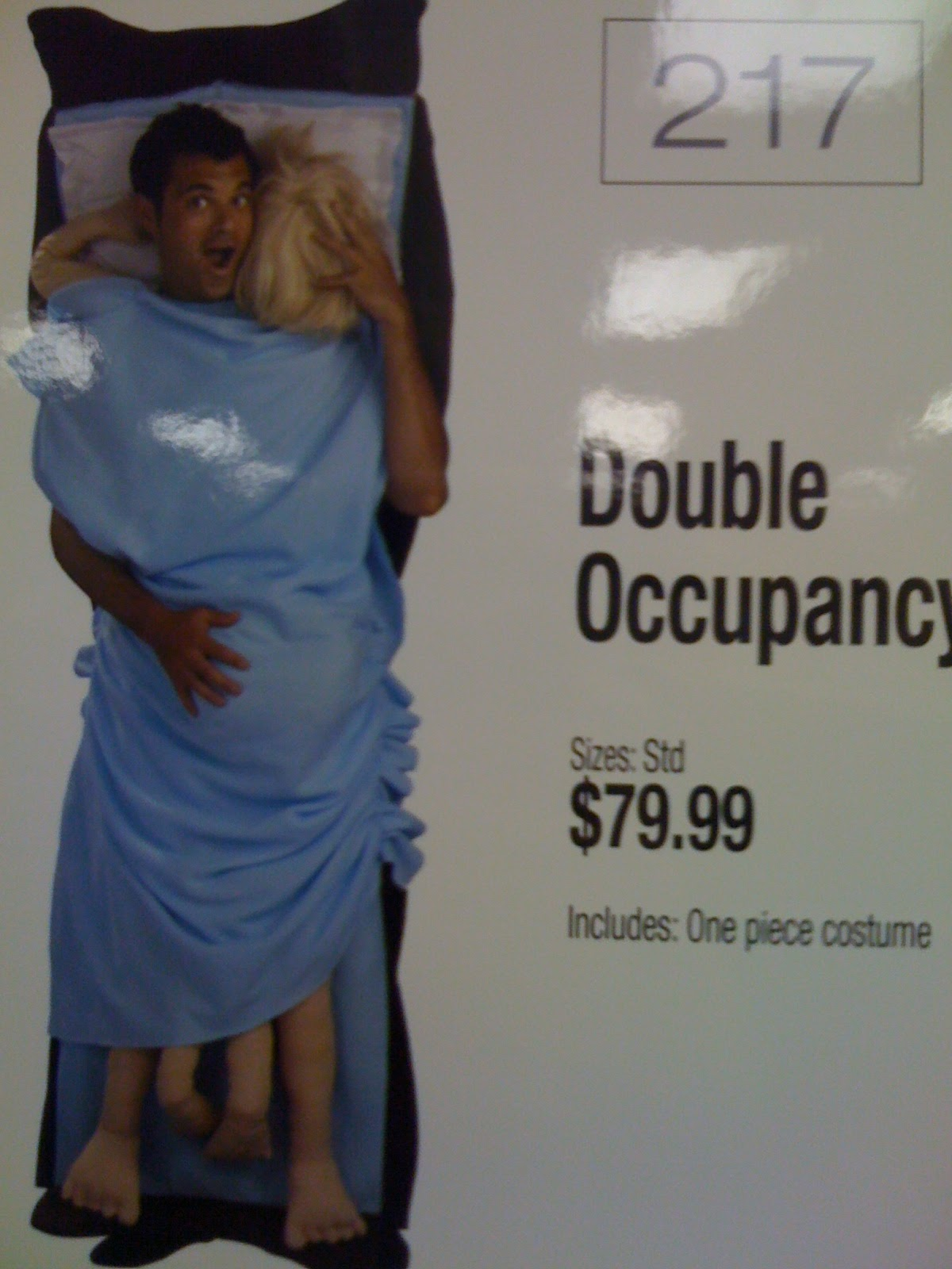 Halloween-Costume-Double Occupancy-Sleeping-Bag-Dirty