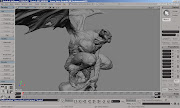 The Tombstone Gargoyle. Here is Tombstone Gargoyle,